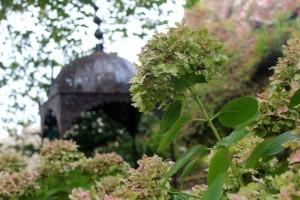 Detalhes dos jardins do Castelo dos Mouros