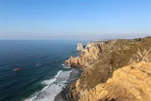 A vista do Cabo da Roca é de tirar o fôlego. Mas leve um casaco, lá costuma fazer frio.